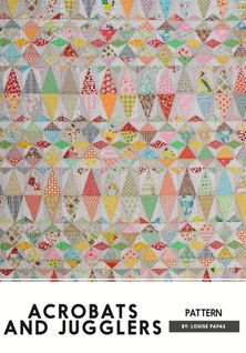 Acrobats And Jugglers Pattern Only - Fro