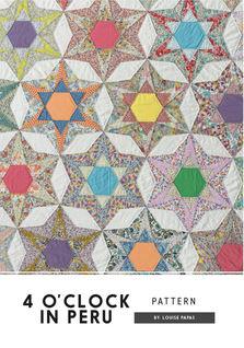 4 O'CLock In Peru Pattern - Front Cover.