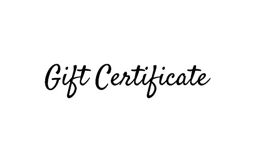 Gift Certificate - $15.00