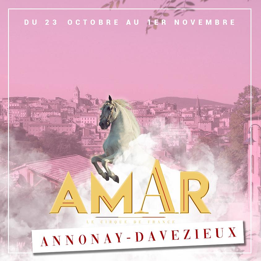 23 OCTOBRE AU 1ER NOVEMBRE - ANNONAY / DAVEZIEUX