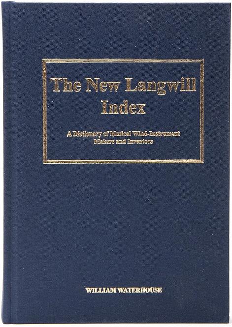 ※販売終了 The New Langwill Index - BO33009