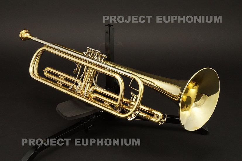 バストランペット 美品! Meister J.SCHERZER B管 Sinfonia BT31001