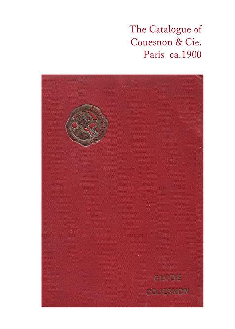 書籍 ケノン社総合カタログ 1900年頃 - The Catalogue of Couesnon & Cie Paris ca.1900 - BO33005