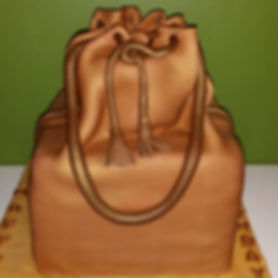 Sweet Suga Mama's Drawstring Purse Cake