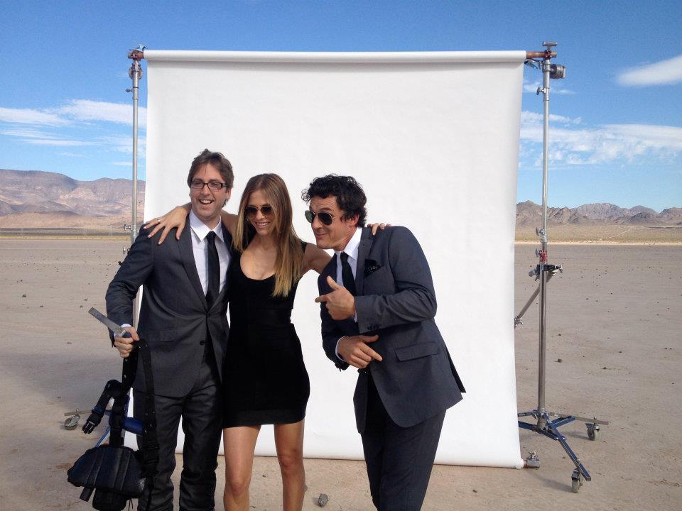 Chasing UFOs Promo shoot