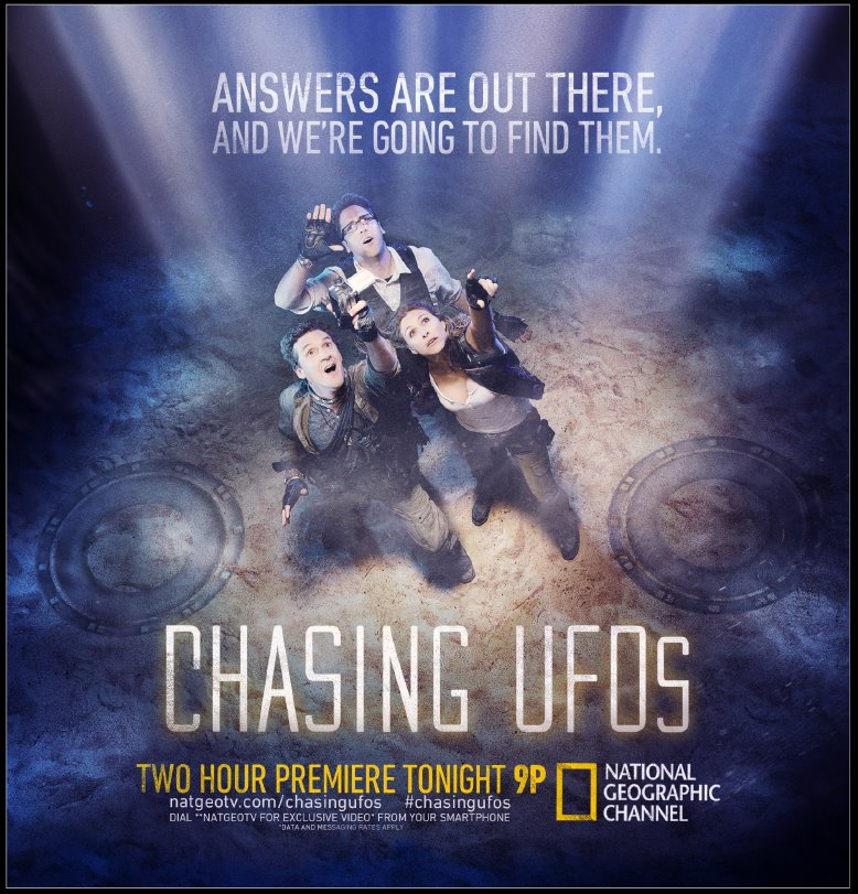 Chasing UFOs promo poster