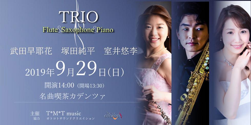TRIO Flute&Saxophone&Piano