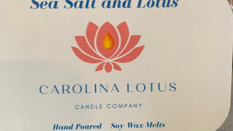 Sea Salt and Lotus Soy Wax Melts