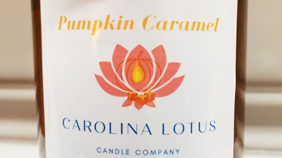 Pumpkin Caramel 9 oz Soy Candle