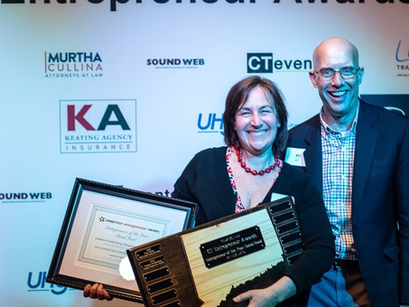 UP Founder, Candace Freedenberg takes home CT Entrepeneur Award in the Social Good Category