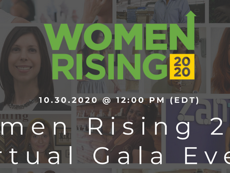 "10/30 Join the celebration ""Women Rising 2020"""