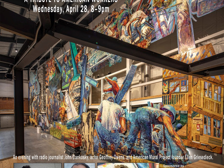 Tribute to American Workers Mural