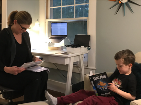 Juggling Work & Child-care at Home
