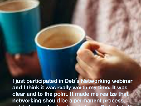 Networking is important any day.