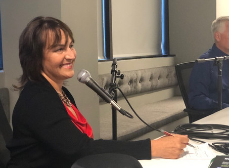 Your Money, Your Purpose Podcast hosts Candace Freedenberg