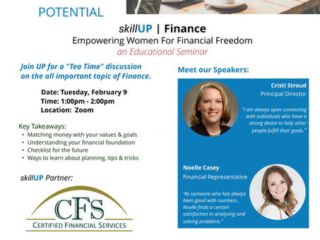 SkillUP | Empowering Women for Finance Freedom!