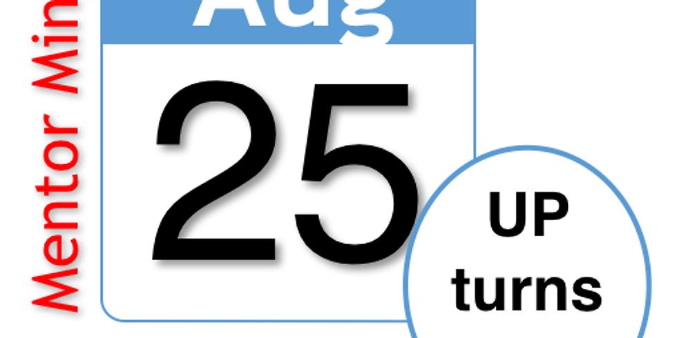 8/25 UP's 5th Anniversary Celebration & Mentor Mingle (Virtual LNO)