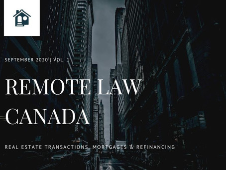 Remote Law Canada adds Real Estate practice to its suite this Fall