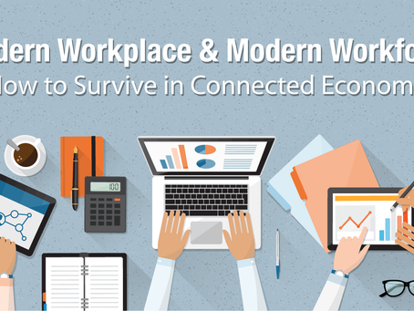 November 22, 2019: Modern Workplace & Modern Workforce - How to Survive in the Connected Economy