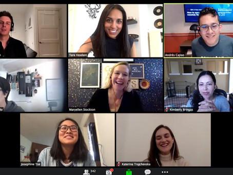 Tara Vasdani speaks to organizations across the world alongside Uber, FlexJobs, Prezi and more