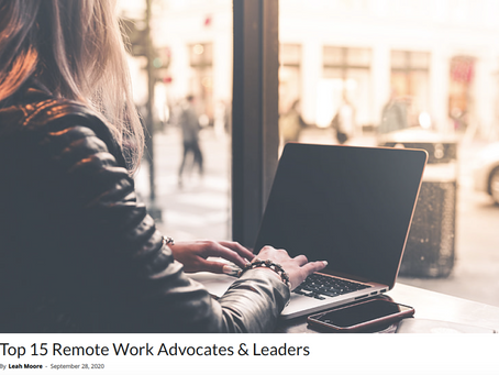 Tara Vasdani recognized by AAE as a Top 15 Remote Work Advocate and Leader in North America
