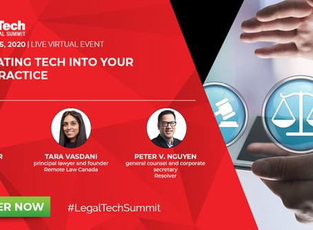 Thomson Reuters' Legal Tech Summit