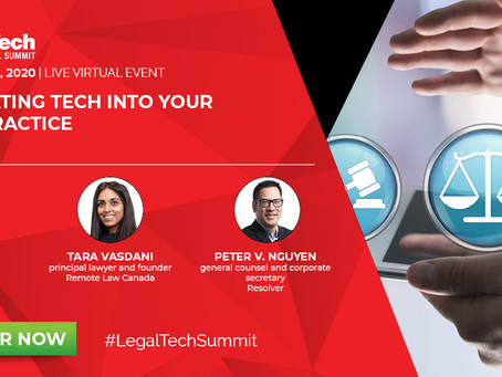 Thomson Reuters' Legal Tech Summit