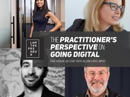 Tara Vasdani joining others for the Lawtrepreneur Digital Summit