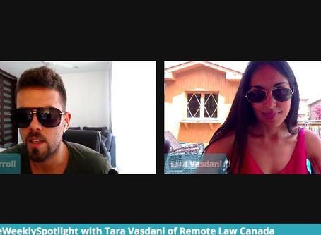 Tara joins Jordan Carroll to discuss the Legalities of Remote Work
