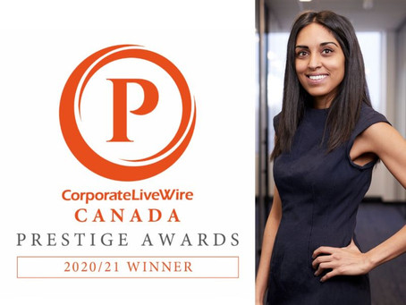 Remote Law Canada is your 2020/2021 Employment Law Firm of the Year!