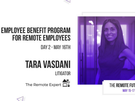 Tara speaks to the Remote Future Summit put on by Remote-How Inc.