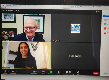 Tara Vasdani speaks to Ryerson University's Law Practice Program