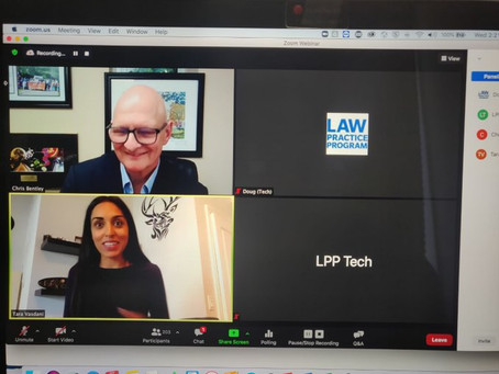 Tara Vasdani speaks to Ryerson University's Law Practice Program