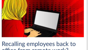 Recalling employees back to office from remote work? Think constructive dismissal