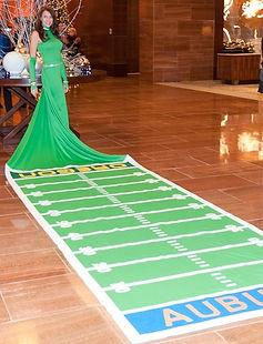living 50 yard line