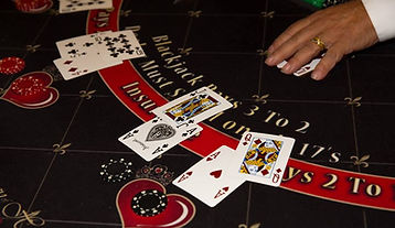 Photo of a Blackjack Table