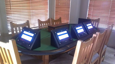 video poker table