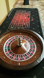Photo of table top roulette wheel