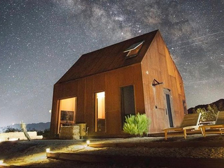 FOLLY OFF-GRID STAR GAZING CABIN