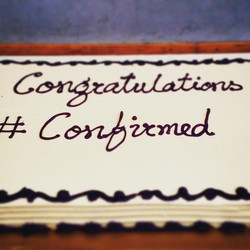 So proud to have confirmed 13 wonderful youth this past Sunday! #confirmation2015