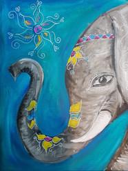 ADORNED ELEPHANT