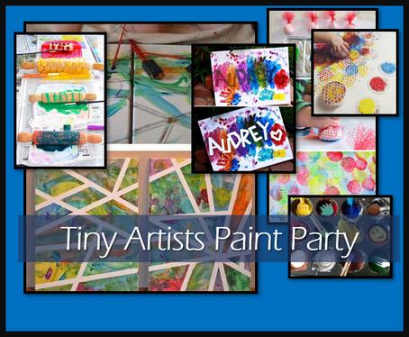 Tiny Artist Party