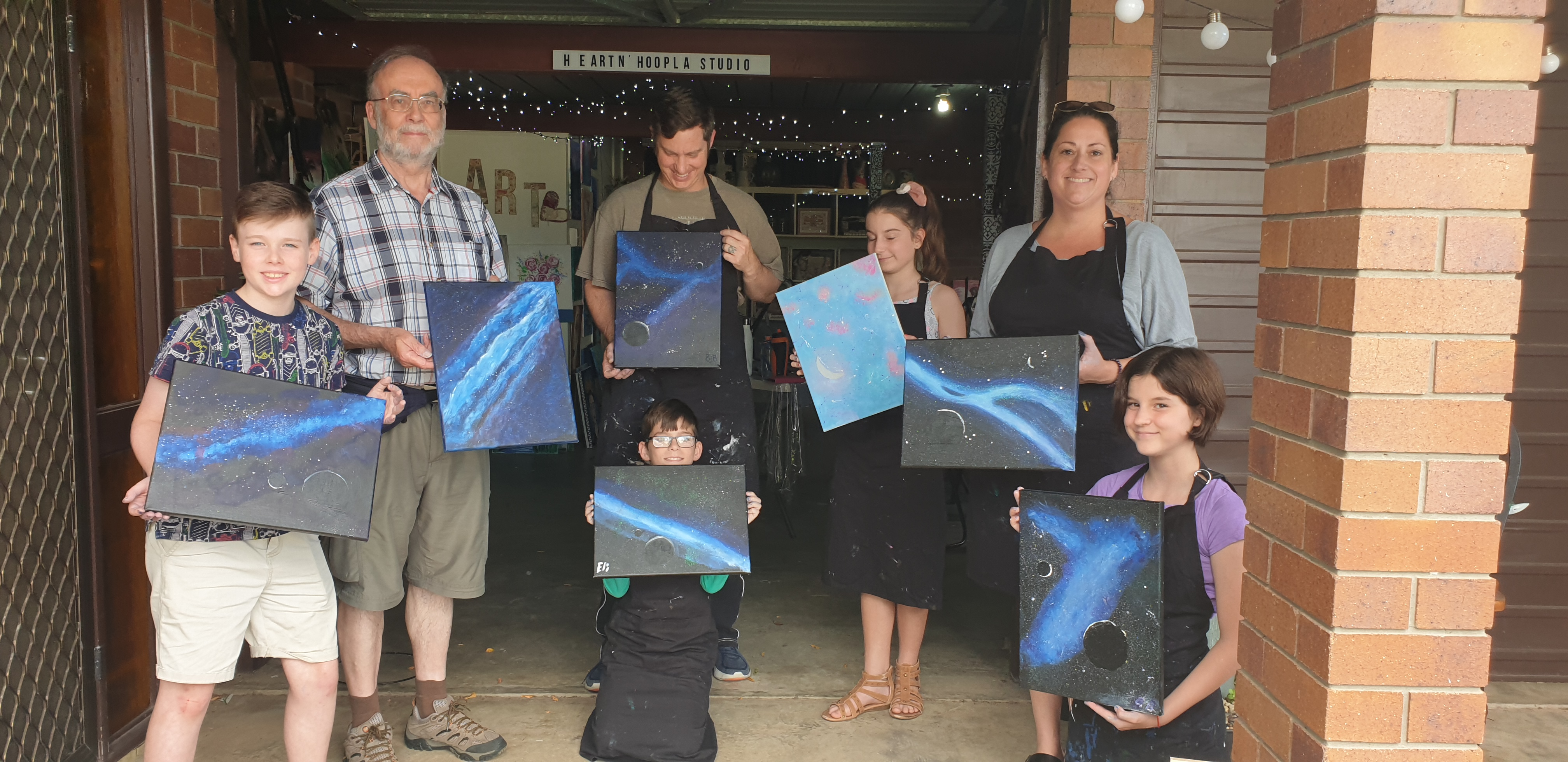 Family Paint Workshops