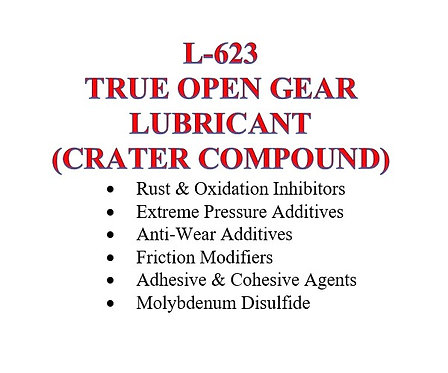L-623 True Open Gear Lubricant (Crater Compound)