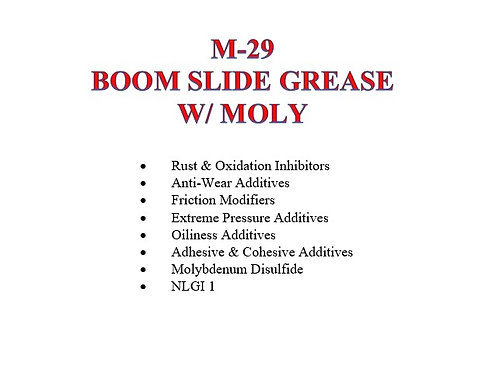 M-29 Boom Slide Grease with Moly