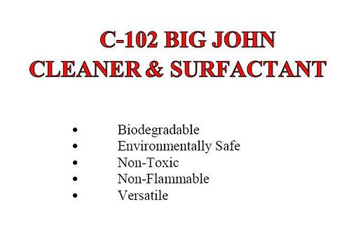 C-102 Big John Cleaner & Surfactant