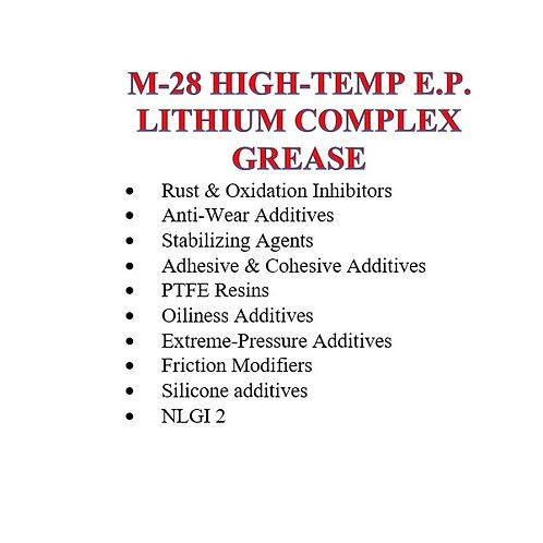 M-28 High-Temp E.P. Lithium Complex Grease