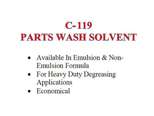 C-119 Parts Wash Solvent