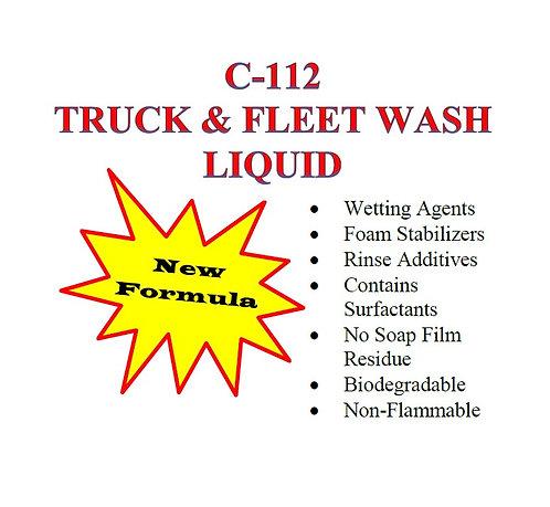 C-112 Truck & Fleet Wash Liquid