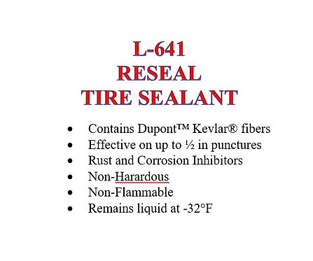 L-641 ReSeal Tire Sealant